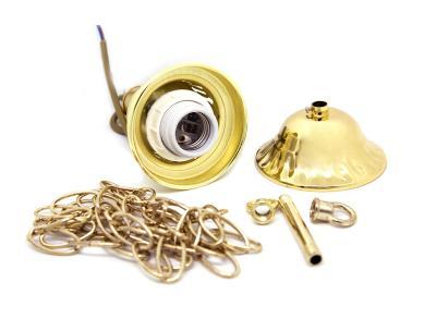 Комплект для 1-го светильника золото