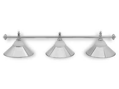 Светильник бильярдный Classic Silver 3 плафона