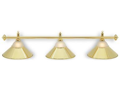 Светильник бильярдный Classic Gold 3 плафона