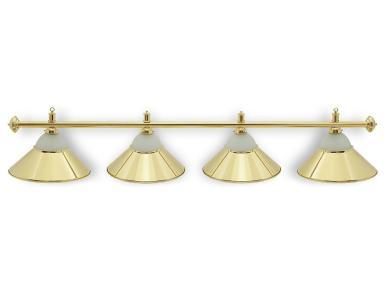 Светильник бильярдный Classic Gold 4 плафона