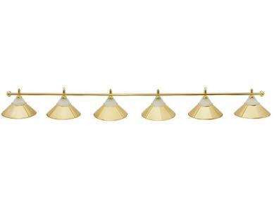 Светильник бильярдный Classic Gold 6 плафонов