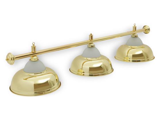 Светильник бильярдный Queen Gold 3 плафона
