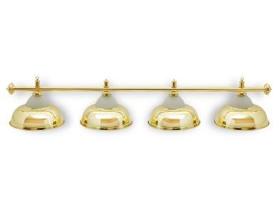 Светильник бильярдный Queen Gold 4 плафона