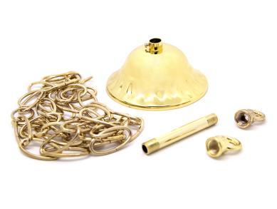 Світильник більярдний Queen Gold 3 плафона