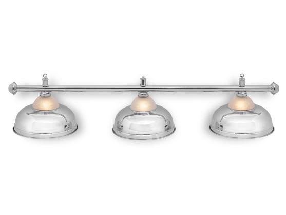 Светильник бильярдный Queen Silver 3 плафона