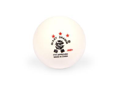 Мячи для настольного тенниса Giant Dragon 6шт белые