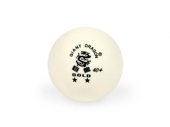 Мячи для настольного тенниса Giant Dragon Training Gold40+ 2зв 6шт белые