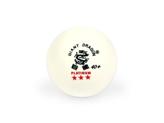 Мячи для настольного тенниса Giant Dragon Training Platinum 40+ 3зв 6шт белые