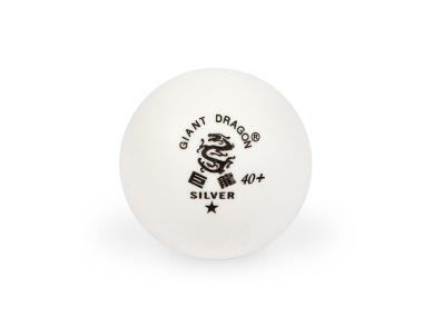 Мячи для настольного тенниса Giant Dragon Training Silver 40+ 1зв 120шт белые