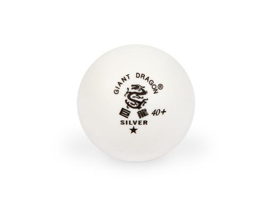 Мячи для настольного тенниса Giant Dragon Training Silver 40+ 1зв 24шт белые