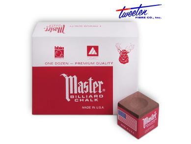 Мел Master коричневый  12шт