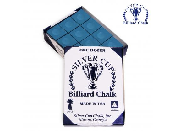 Мел SILVER CUP BLUE 12шт