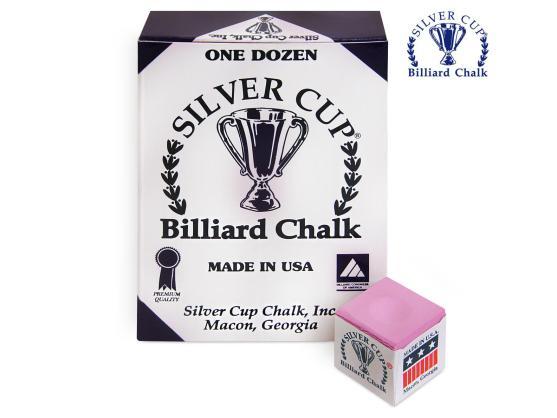 Мел Silver Cup розовый 12шт