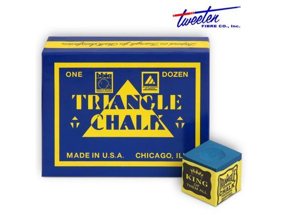 Мел Triangle синий 12шт