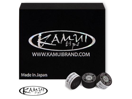 Наклейка для кия KAMUI BLACK 12,5ММ MEDIUM