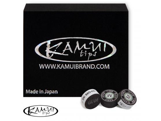Наклейка для кия Kamui Snooker Black 11mm Medium