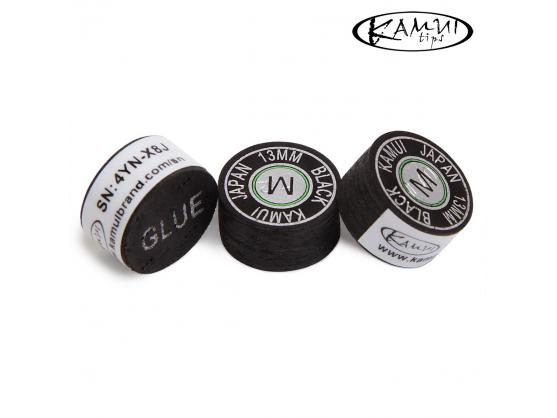 Наклейка для кия Kamui Black 13mm Medium