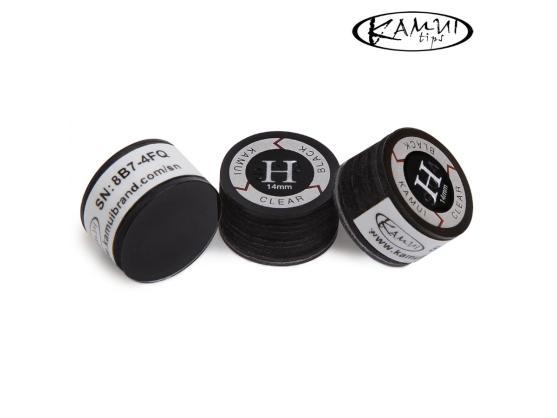 Наклейка для кия Kamui Clear Black 14мм Hard 1шт