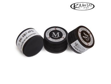 Наклейка для кия Kamui Clear Black 14мм Medium 1шт