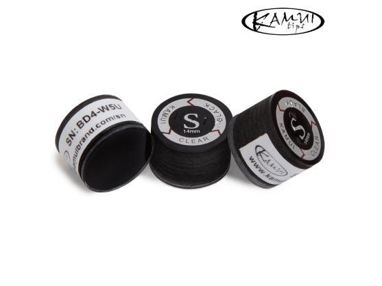Наклейка для кия Kamui Clear Black 14мм Soft 1шт