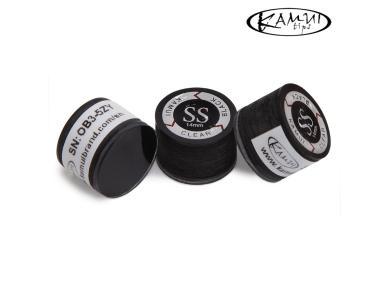 Наклейка для кия Kamui Clear Black 14мм Super Soft 1шт