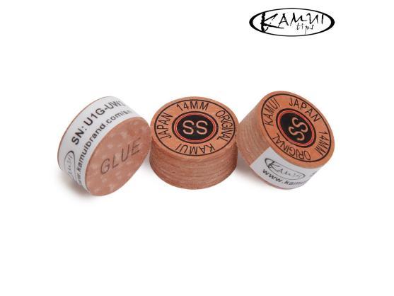 Наклейкa для кия Kamui Original Ø14mm Super Soft 1шт