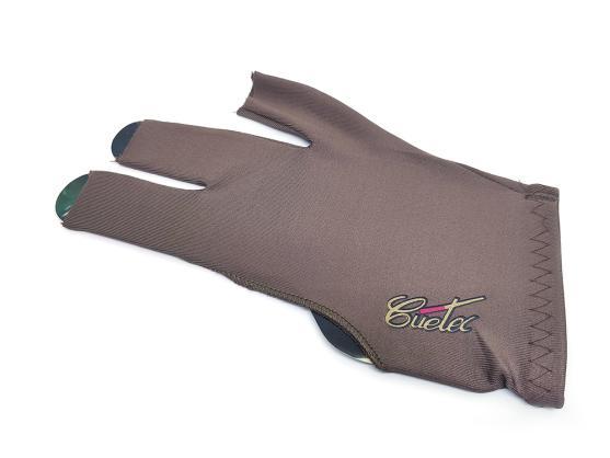 Перчатка Cuetec Pro Brown открытая