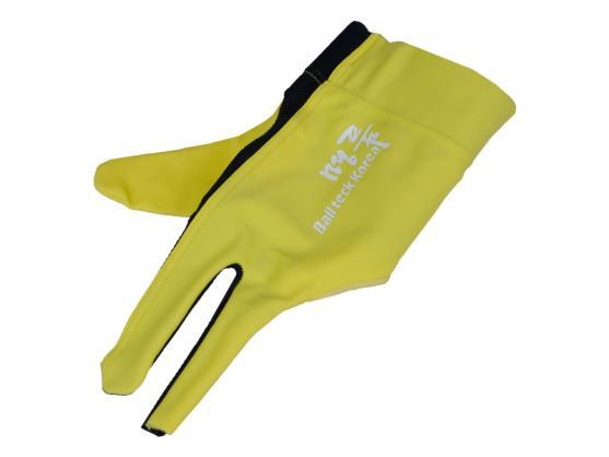 Перчатка Ball Teck MFO желтая со вставкой от скольжения