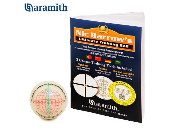 Тренировочный шар Snooker Aramith Nic Barrow`s