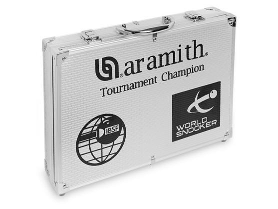 Шары Aramith Tournament Champion Pro-cup 1G Снукер в алюминиевом кейсе 52,4 мм
