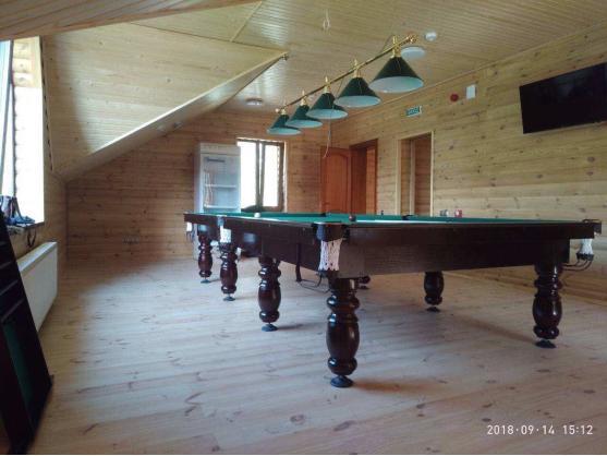 Бильярдный стол для пирамиды КЛАССИК 2 ЛЮКС