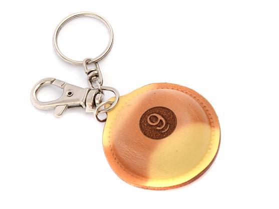 Брелок-инструмент для обработки наклейки №9 кожаный