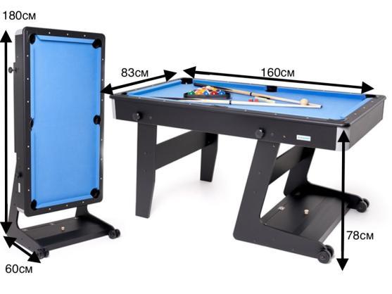 Складной бильярдный стол Ostin 5 футов