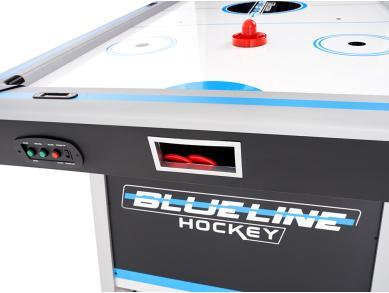 Аэрохоккей  BLUE LINE с теннисной крышкой