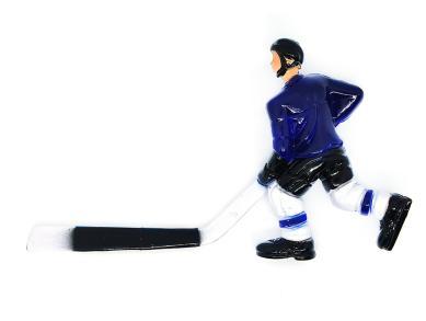 Хоккеист для настольного хоккея №12 синий