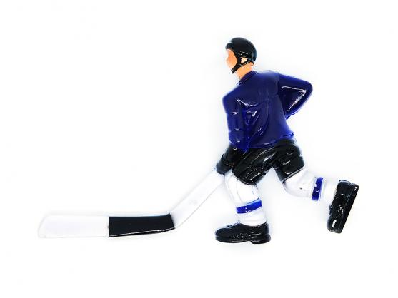 Хоккеист для настольного хоккея №14 синий