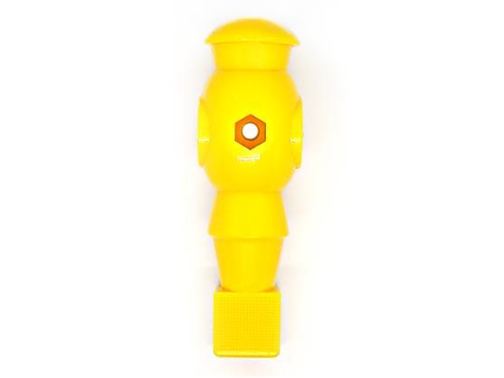 Футболист для настольного футбола 16мм желтый Artmann