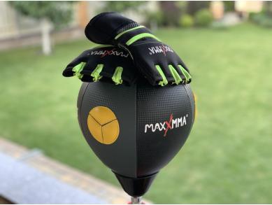 Груша скоростная напольная водоналивная с чехлом-утяжелителем и перчатками MAXXMMA RAB04